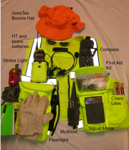 MOLLE vest fully equipped