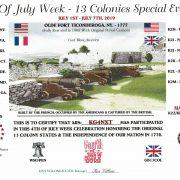 13 colonies contest certificate